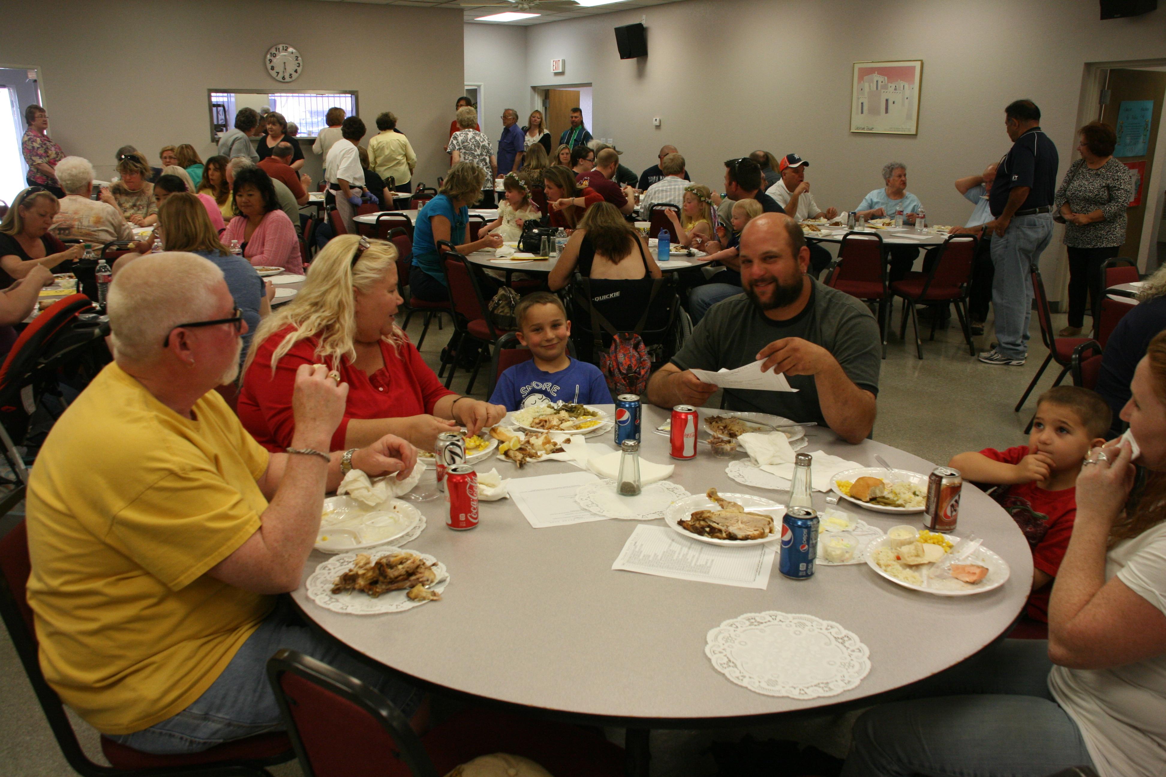 Annual Dave Lambert Memorial Salmon Dinner